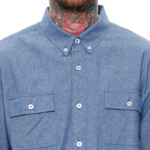 Junction Chambray Button-Up